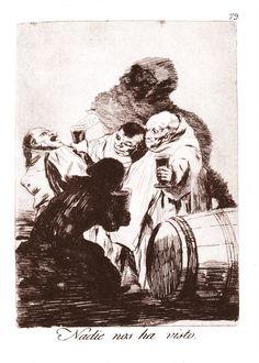 Goya etchings