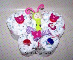 Windeltorte+Schmetterling+von+Windelfee+auf+DaWanda.com