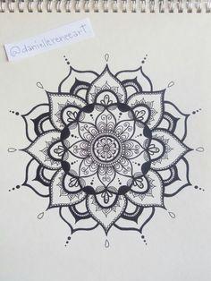 Black and white mandala - ink drawing my artwork эскиз тату, рисунки, манда Hand Tattoo, I Tattoo, Easter Drawings, Art Drawings, Mandalas Drawing, Black And White Drawing, Mandala Coloring, Mandala Tattoo, Piercing Tattoo