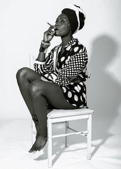 abstractelements:  Wife - Fola, Fela Kuti