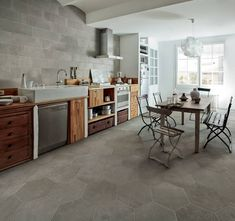 Julian Tile Show Room in Langley, Burnaby, Calgary, Edmonton and Winnipeg. Tile Stores, Hexagon Tiles, Commercial Design, Kitchen Reno, Porcelain Tile, Decoration, Wall Tiles, Home And Living, Countertops
