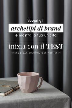Archetipi di brand: trovare la personalità del brand per raccontarsi con naturalezza e autenticità. Inizia con il test gratuito! Tableware, Branding, Dinnerware, Brand Management, Tablewares, Dishes, Identity Branding, Place Settings