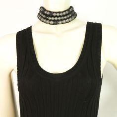 Auth LANVIN Pearls Black Ribbon Tie Choker Necklace unique piece! #Lanvin #Statement Lanvin, Black Ribbon, Unique Necklaces, Shirt Blouses, Shirts, Luxury Handbags, Fashion Necklace, Crochet Necklace, Schmuck