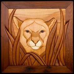 Big Cat framed, by TJ's Woodshop