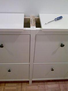 IKEA Hackers: Another twinned Hemnes shoe cabinet