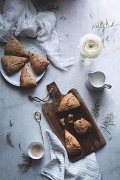 Hazelnut scones