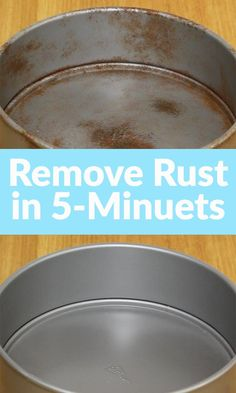 Remove Rust in 5 minuets - rust removal trick is soda and tin foil!