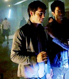 Dylan O´Brien - the scorch trials bts gif