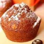 Muffins fara oua, dar cu ciocolata