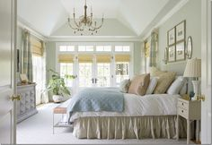 Used as an example for window treatments on Cote de Texas Blog