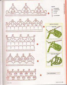 Filomena Crochet e Outros Lavores: Bicos de Crochet