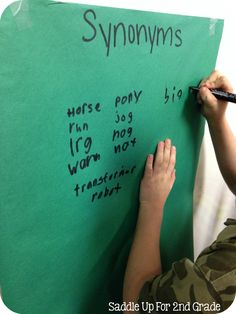 Word Speed! A Vocabulary Game by Saddle Up For 2nd Grade