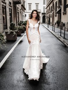 89ee0b644af0 Bianca Balti stars in Alessandro Angelozzi Couture 2019 Bridal collection  campaign Bridal Collection, Wedding Day