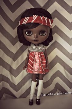 Introducing Love, she is my first Custom of the year 2015 just in time for Valentines Day. Love is a custom Authentic Takara Blythe Simply Love Me