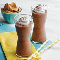 Peanut Butter, Banana, and Chocolate Smoothies Recipe | MyRecipes.com