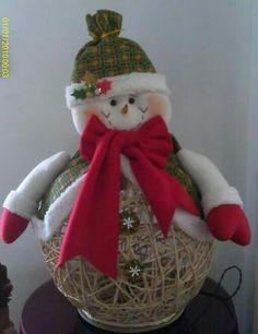 Christmas Balls, Christmas Ornaments, Snowmen, Holiday Decor, Crafts, Ideas, Papa Noel, Xmas, Scrappy Quilts