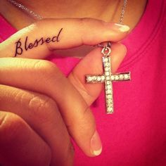 Blessed Tattoo <3