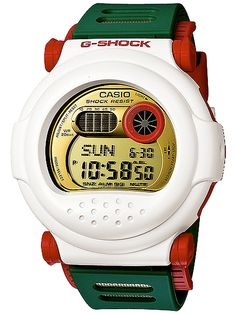 White G-Shock Watches I really love these types of G Shocks, they're so neat.