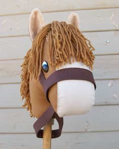 Stick Horse Sewing Pattern and Tutorial Rustic von RusticHorseShoe