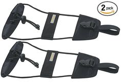 Amazon.com | Travelon Bag Bungee, Black, | Luggage Straps