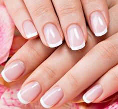 What color nail polish should a bride wear?