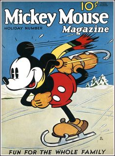 Mickey Mouse magazine, mid-1930's
