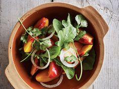Peach and Plum Salad Recipe | SAVEUR