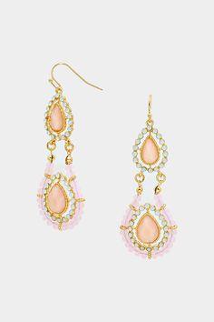 Charlotte Earrings in Aspen on Emma Stine Limited