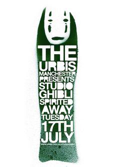 Minimalist Movie Poster // Movie Friday: 10 'Spirited Away' Alternative Movie Posters #ghibli #miyazaki