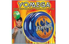 YOMEGA Fireball High Performance YO-YO Colors may vary by Yomega. $8.95. The Yomega Fireball yo-yo is on of our most popular transaxle yo yos.Thanks to its patented transaxle system, theFireball has been a long time favorite of aspiring pros around the world due to its ability to deliver high speed, ultra smooth spins over three times longer than regular yo-yos.