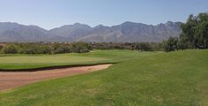 Gotta love the scenery at the Views Golf Club at Oro Valley.