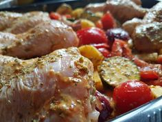Μπουτάκια κοτόπουλο με λαχανικά στο φούρνο!!! ~ ΜΑΓΕΙΡΙΚΗ ΚΑΙ ΣΥΝΤΑΓΕΣ 2