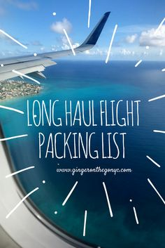 Long Haul Flight. Here are ten items you don't want to forget to pack.
