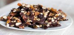 dark chocolate bark by charmaine