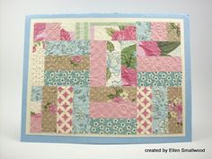 Quilting with paper