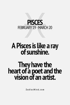 Zodiac Mind - Your source for Zodiac Facts Pisces Traits, Pisces Love, Pisces Girl, Zodiac Signs Pisces, Pisces Quotes, Pisces Woman, Zodiac Mind, My Zodiac Sign, Pisces Zodiac