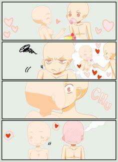 C o m i c - Base by Miitu-chan on DeviantArt