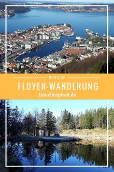 In Norwegens Hafenstadt Bergen erwartet dich das alte Hafenviertel Bryggen. Absolut lohnenswert ist auch eine Wanderung auf dem Hausberg Floyen. Mehr Fotos & Tipps im Blogpost!