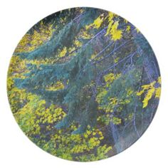 Autumn 5 party plate from Florals by Fred #zazzle #gift