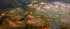Sunset in Tiger mouth by Hai Thinh on 500px. Tiger mouth panorama  Yuangyan - China
