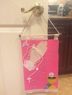 Sisters banner for first communion                                                                                                                                                                                 More