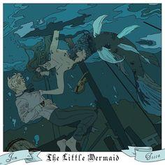 Jem Carstairs & Tessa Gray | The Little Mermaid
