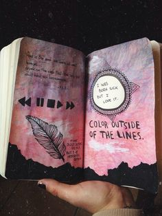 Wreck this journal:)
