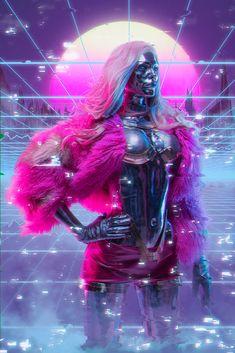 CyberPunk Lizzy Wizzy, Aku 悪 Cyberpunk 2077, Cyberpunk Girl, Arte Cyberpunk, Cyberpunk Fashion, Cyberpunk Aesthetic, Shadowrun, Sci Fi Fantasy, Horror Art, Game Art