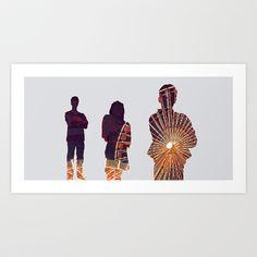 Ferris Art Print by Ivan Guerrero - $14.00