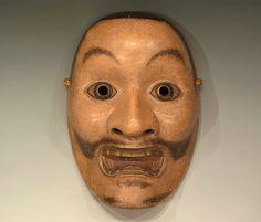 H1156|天下一近江作 小飛出|能面・芸能・和楽器|Online Shop|古美術龍潭(りょうたん)【Antique Ryoutan】