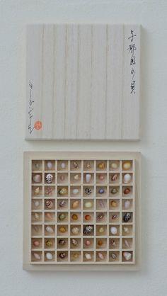 jurgen-lehl-for-babaghuri-jp: 沖縄、与那国島の貝殻と珊瑚桐箱 2014年 5月