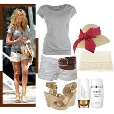 Jennifer Aniston White Crochet Dress | 17/09/09 (Dress Like Jennifer Aniston) - Polyvore