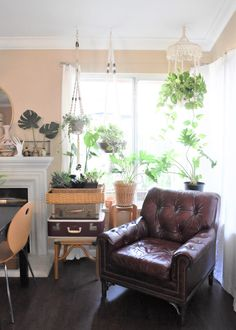 Vintage Treasures Create an Ever-Changing Home for a Family of Six | Design*Sponge