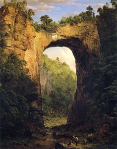 Frederic Church. The Natural Bridge.
